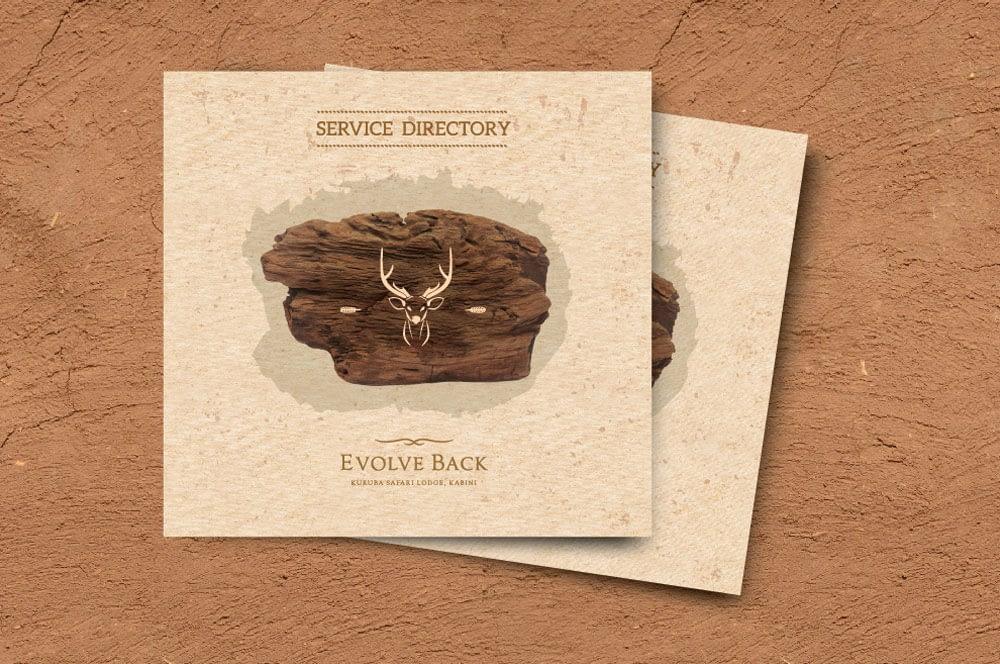 EVOLVE BACK KABINI SERVICE DIRECTORY DESIGN