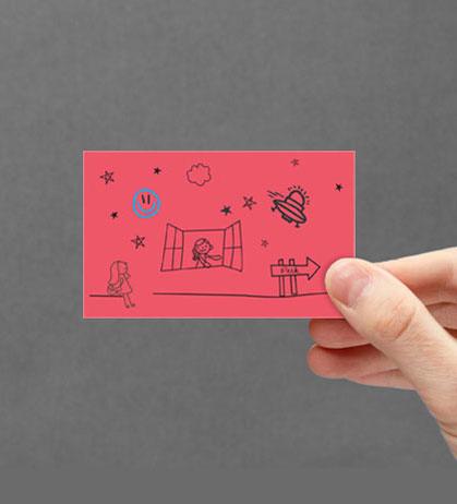 DOODLE VISITING CARD DESIGN 2