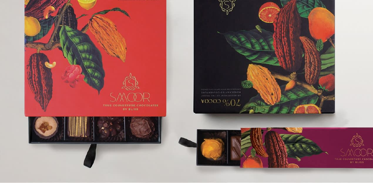 SMOOR TRUE COUVERTURE CHOCOLATE PACKAGE DESIGN 3