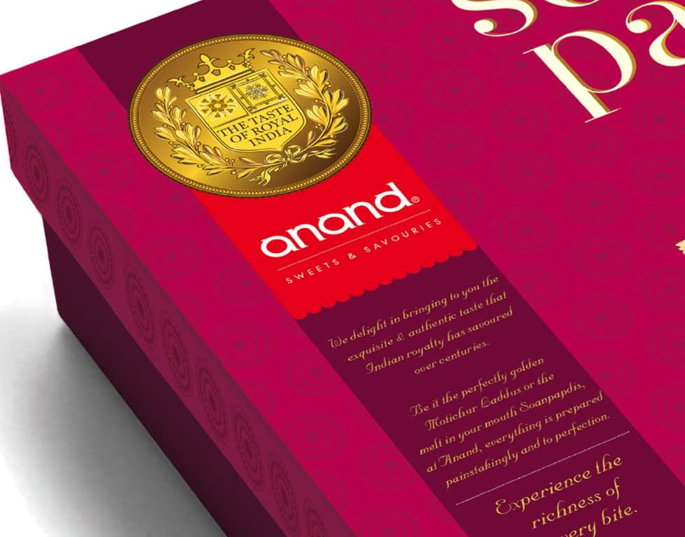 ANAND-SWEETS PACKAGE DESIGN