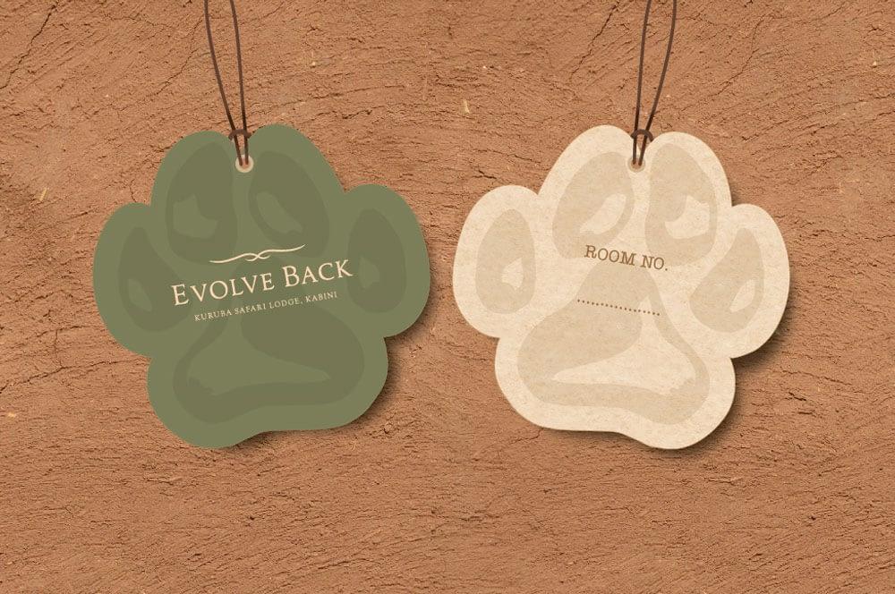 EVOLVE BACK KABINI TAG BRANDING
