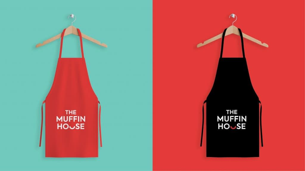 THE MUFFIN HOUSE APRON DESGIGN