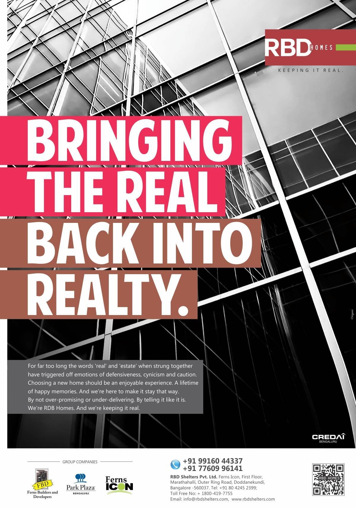 RBD Brand launch ad