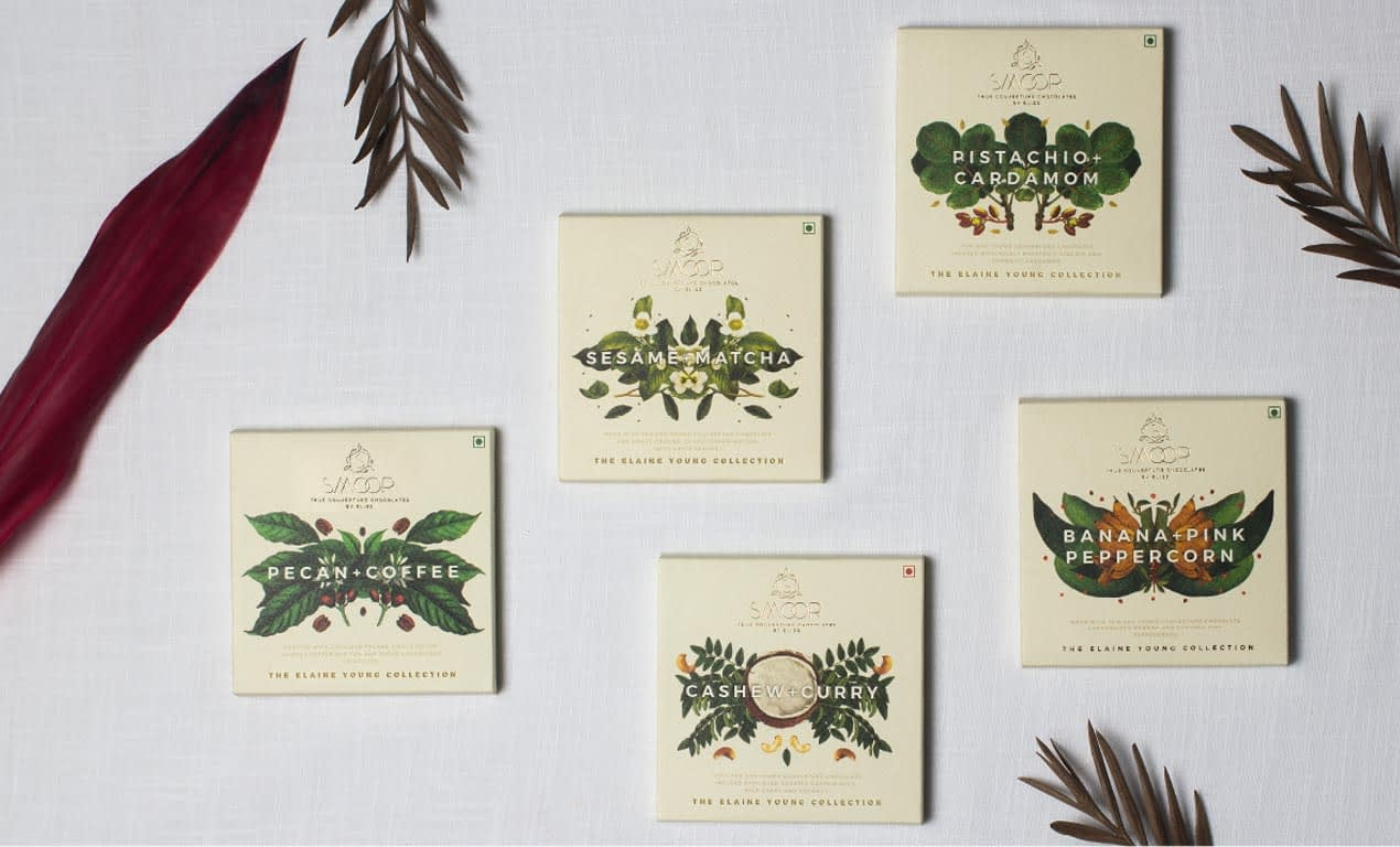 SMOOR THE CLAIKE YOUNG COLLECTION PACKAGE WRAPER DESIGNS