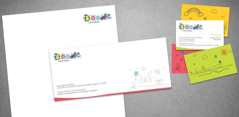 DOODLE STATINERY BRANDING