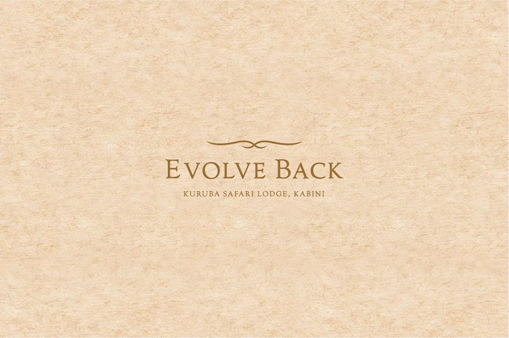 EVOLVE BACK LOGO DESIGN