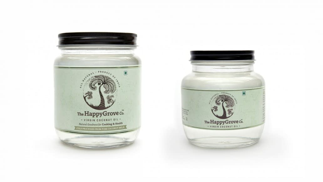 THE HAPPY GROVE CO PACKING LABEL DESIGN 2