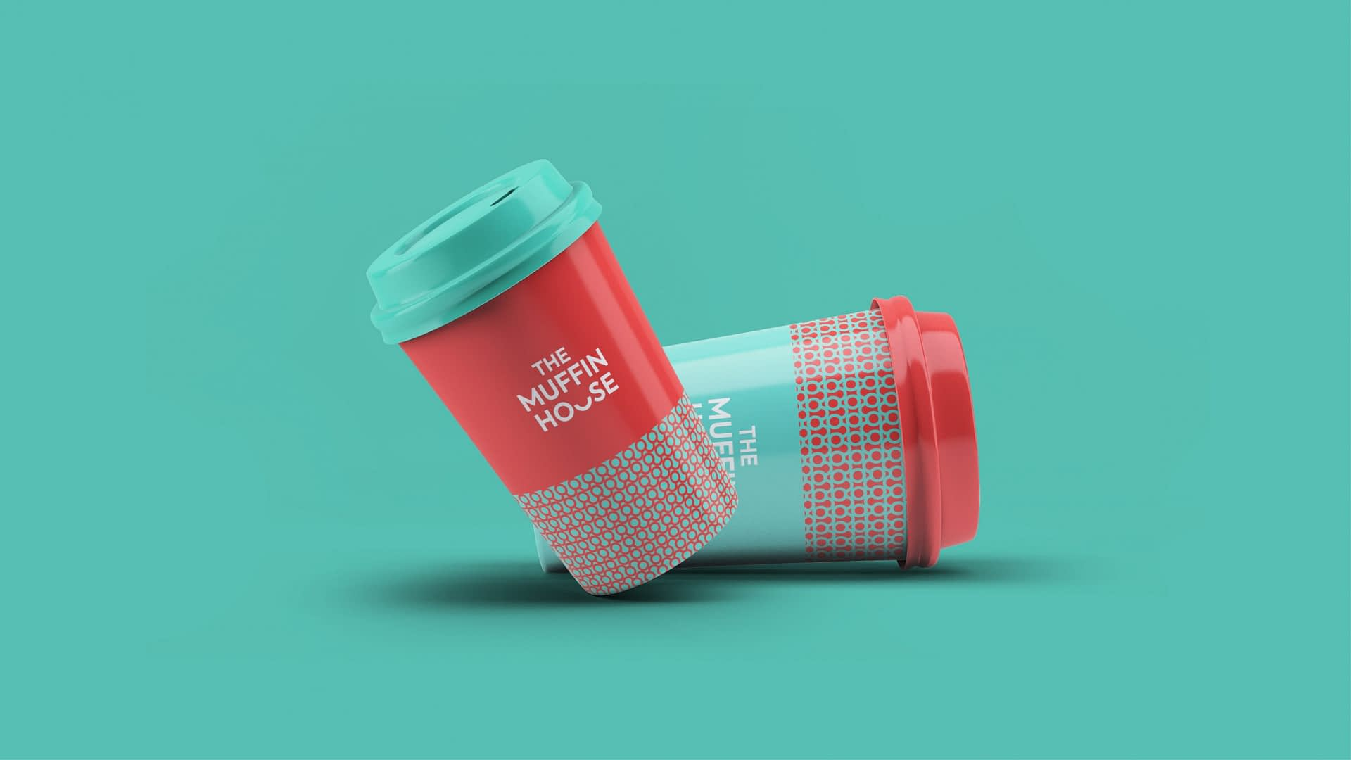 THE MUFFIN HOUSE BEVERAGE PACKAGE DESIGN 2