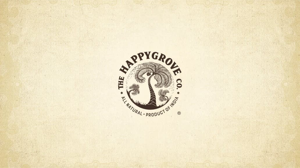 THE HAPPY GROVE CO LOGO