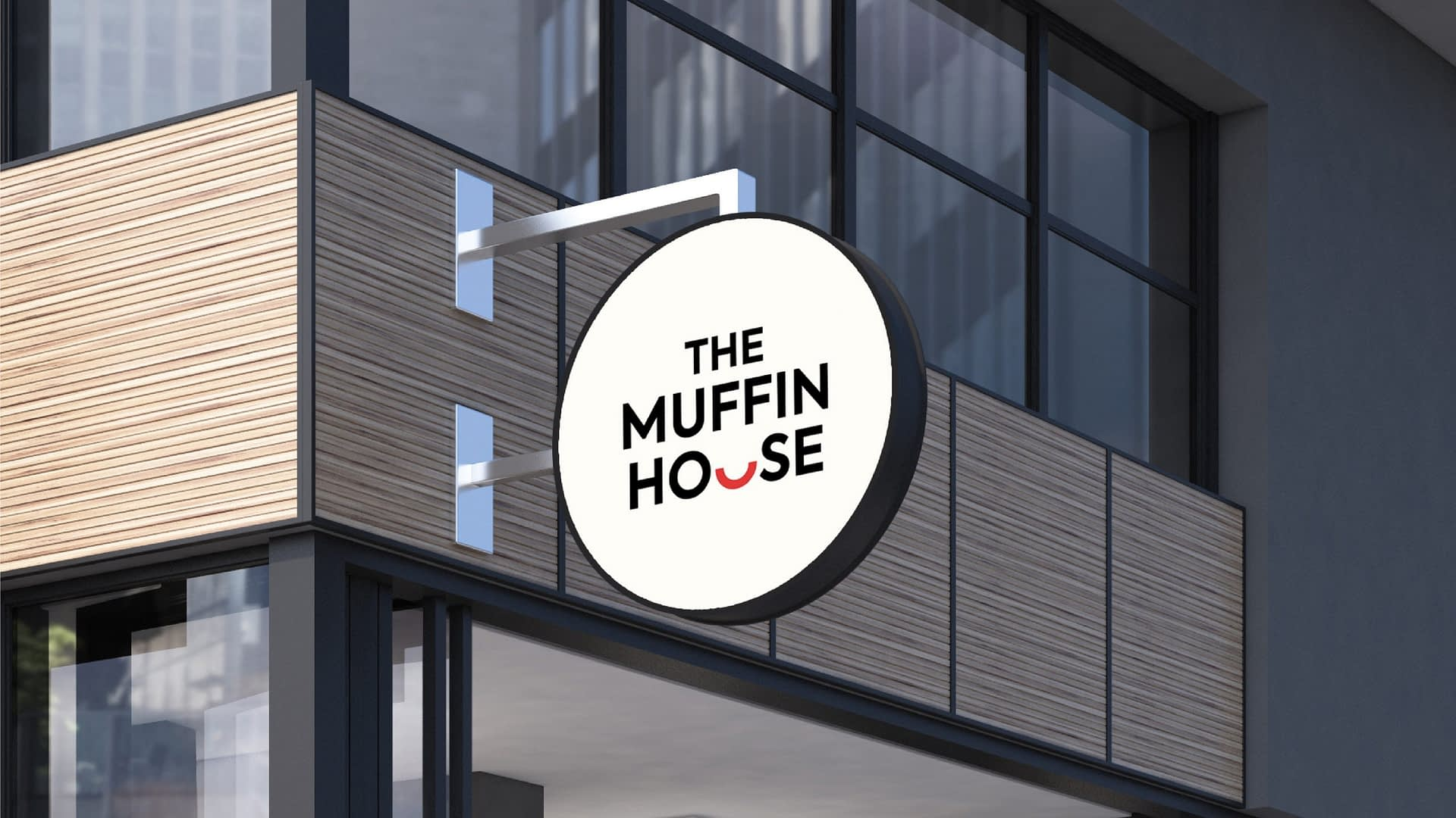 THE MUFFIN HOUSE LOGO SIGNATURE DESIGN
