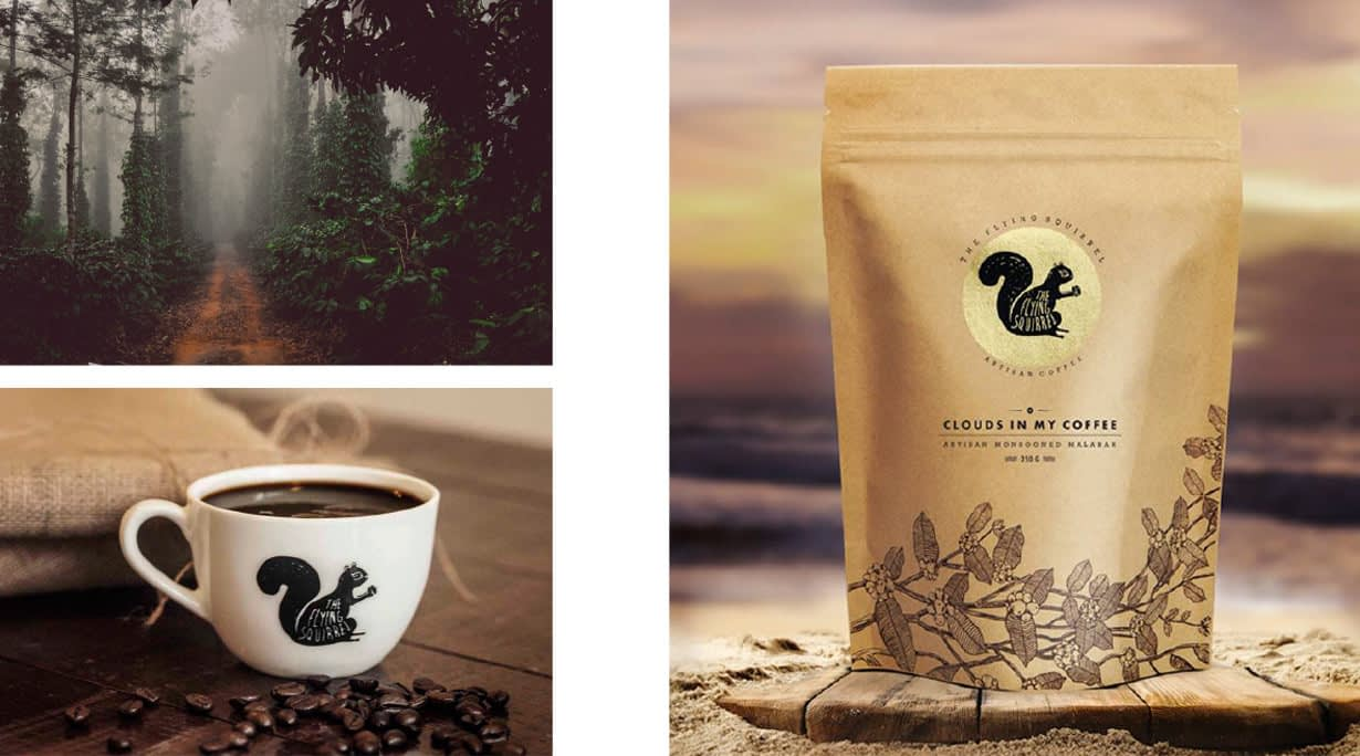 FLYING SQUIRREL PACKAGE DESIGN