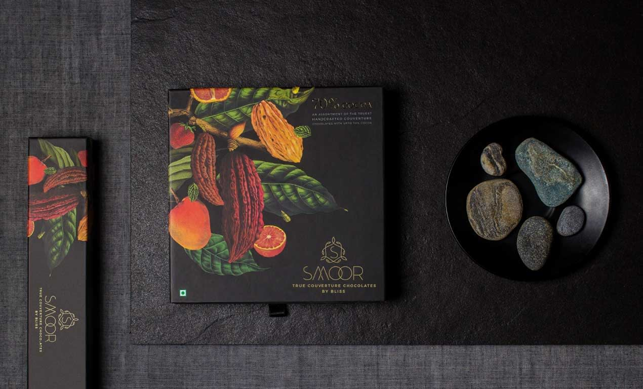 SMOOR TRUE COUVERTURE CHOCOLATE PACKAGE DESIGN 2